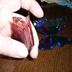 бабочки из пластиковых бутылок 22