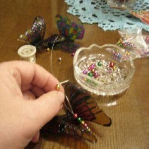 бабочки из пластиковых бутылок 23