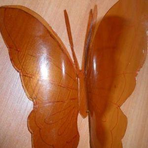 бабочки из пластиковых бутылок 7
