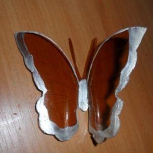бабочки из пластиковых бутылок 9