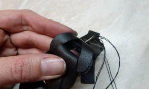 браслеты из кожи своими руками 11