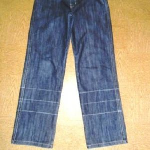 бриджи из старых джинсов 1