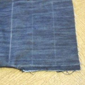 бриджи из старых джинсов 5