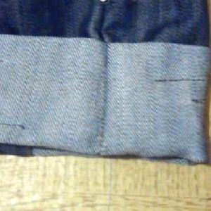 бриджи из старых джинсов 7