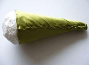 букет из ткани 4