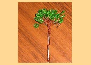 денежное дерево из бисера14