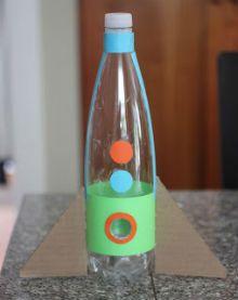 детская поделка ракета из бутылки 2