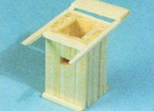 домик из спичек 10