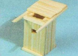 домик из спичек 11