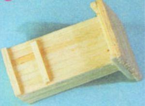 домик из спичек 12
