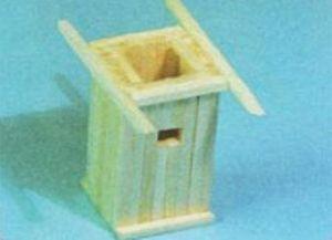 домик из спичек 8