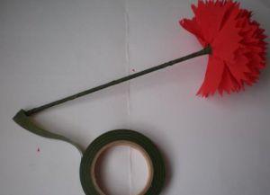гвоздика из гофрированной бумаги18