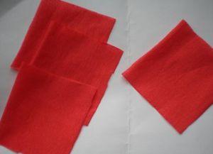 гвоздика из гофрированной бумаги2