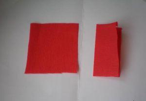 гвоздика из гофрированной бумаги3