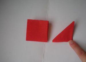 гвоздика из гофрированной бумаги5