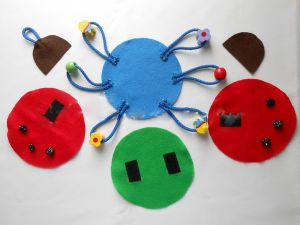 игрушки из фетра34