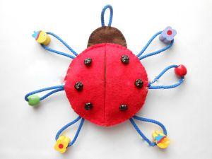 игрушки из фетра57