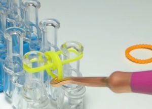 браслет из резинок круговые узелки (5)
