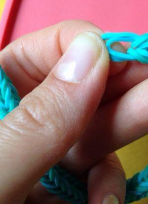 Браслеты из резинок для начинающих 15