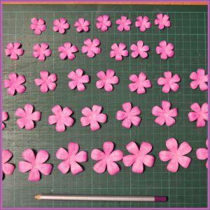 Цветы для скрапбукинга своими руками 21 (Copy)