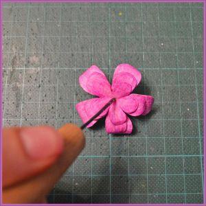 Цветы для скрапбукинга своими руками 22 (Copy)