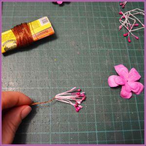 Цветы для скрапбукинга своими руками 23 (Copy)