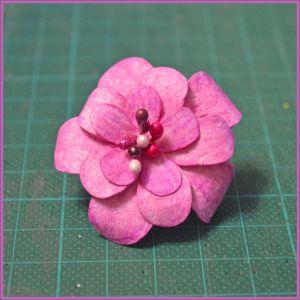 Цветы для скрапбукинга своими руками 25 (Copy)