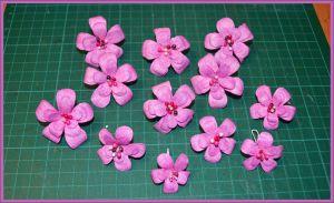 Цветы для скрапбукинга своими руками 26 (Copy)