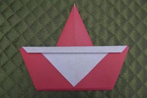 дед мороз из бумаги (10)
