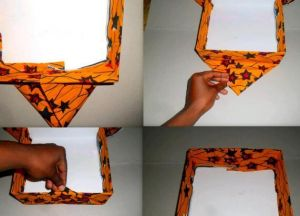 декорирование коробок из под обуви 7