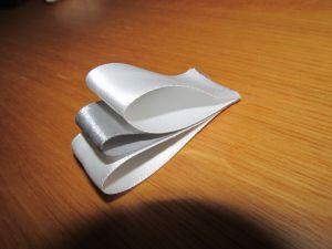 (галстук-бабочка из атласной ленты фото 11)