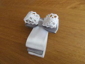 (галстук-бабочка из атласной ленты фото 12)