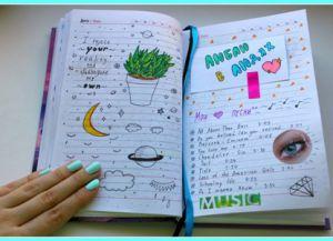 идеи для личного дневника своими руками_14
