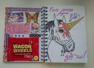 идеи для личного дневника своими руками_15