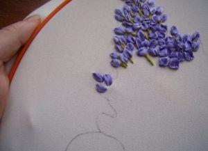 Как научиться вышивать лентами 11
