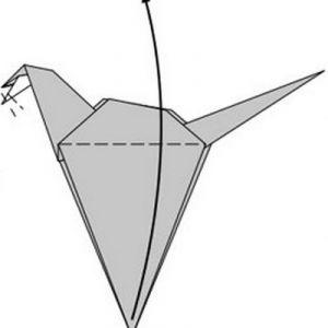 как сделать динозавра из бумаги (13)