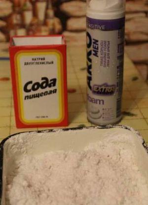 Как сделать пенную краску