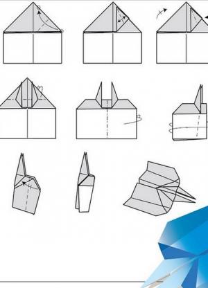 Как сделать из бумаги истребитель