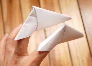 как сделать из бумаги ногти фото 14