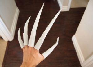 как сделать из бумаги ногти фото 18