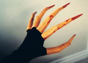 как сделать из бумаги ногти фото 19