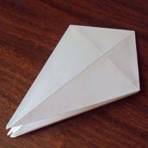 Как сделать из бумаги попугая 12