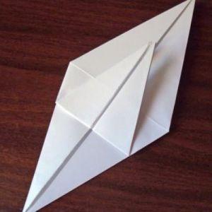 Как сделать из бумаги попугая 15