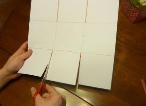 как сделать коробку из бумаги 10