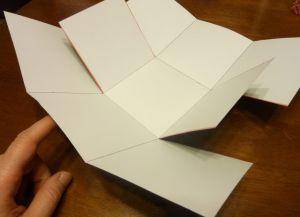 как сделать коробку из бумаги 12