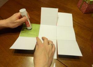как сделать коробку из бумаги 13