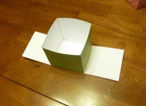как сделать коробку из бумаги 16