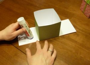 как сделать коробку из бумаги 17