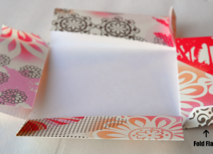 как сделать коробку из бумаги 26