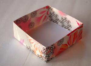 как сделать коробку из бумаги 30